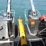 AUV survey equipment