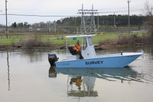 Echo Singlebeam Survey Vessel