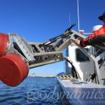 Image of equipment used for bathymetry data.