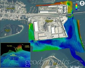 Hydrographic Surveys of Morehead City State Port Shipping Berths