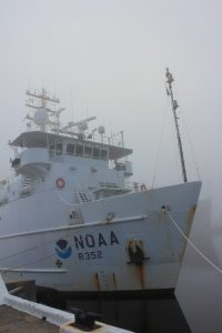 Image of the NOAA research vessel Nancy Foster.