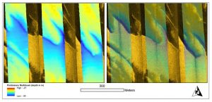 Hydrographic data used to assess and characterize the seafloor in Eastern North Carolina