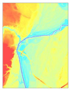 LiDAR of Tar River, NC