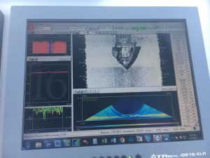 depth sounder image