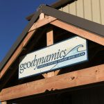 geodynamics sign at office